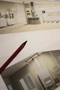 3-D luonnoksia messutalosta